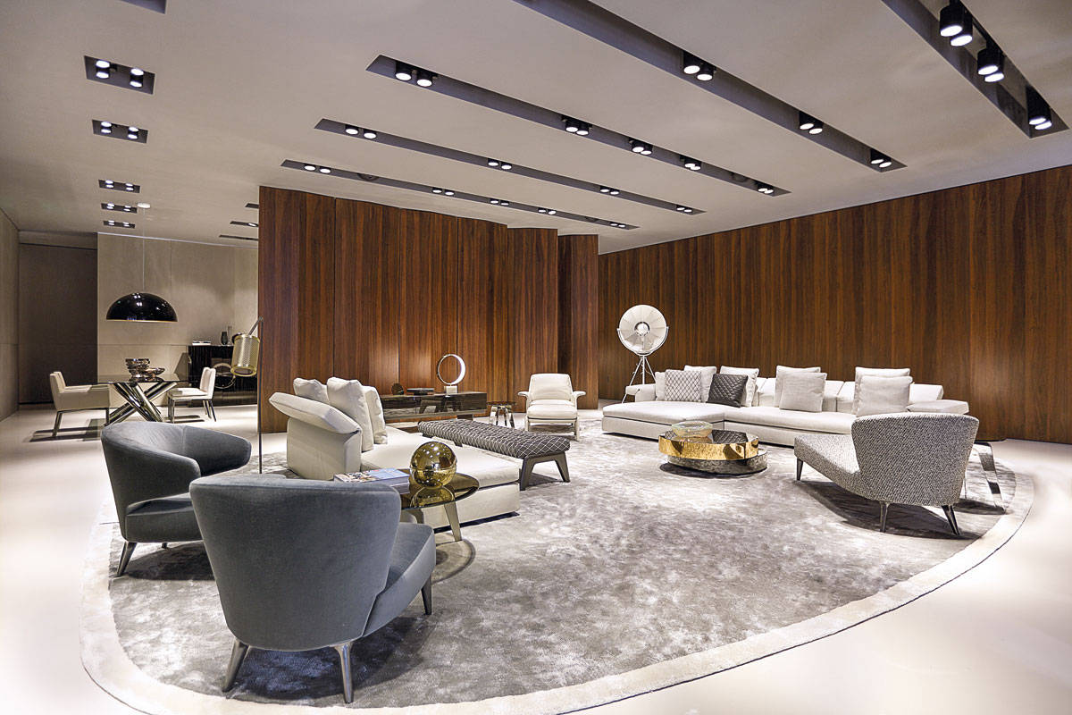 Minotti reinforces its presence in usa and china design eventi