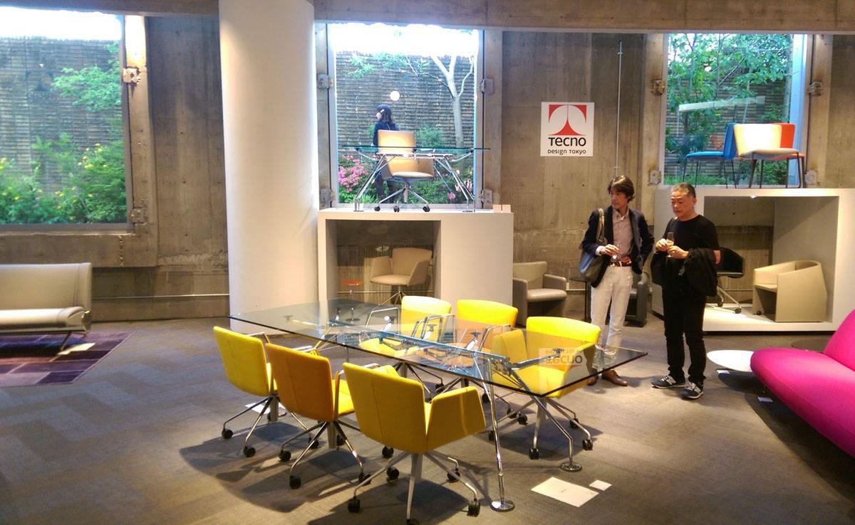 Tecno, international presence - Architecture - IFDM