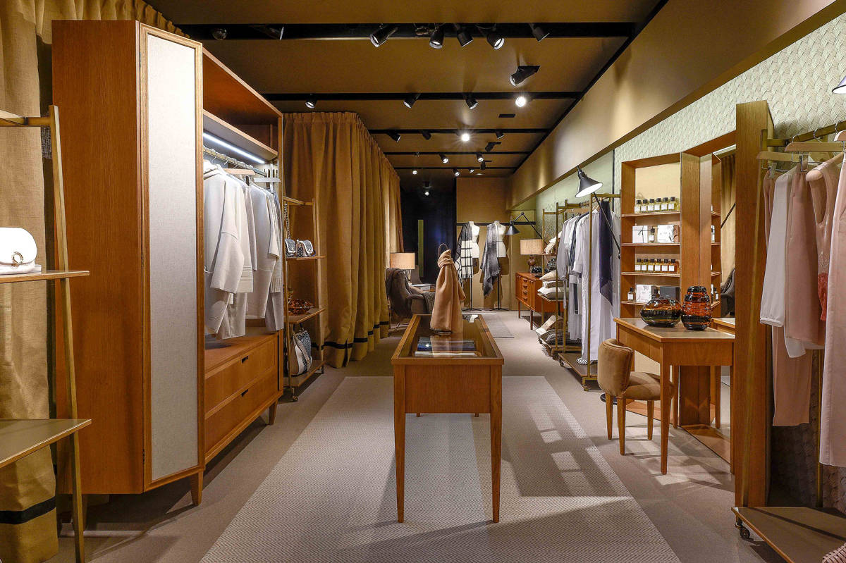 info for cd295 cbd18 The Agnona and CQS London shopping experience - Interiors - IFDM