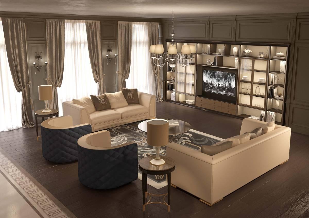 Minotti collezioni a modern mood with a classic style for Interior design moderno e contemporaneo