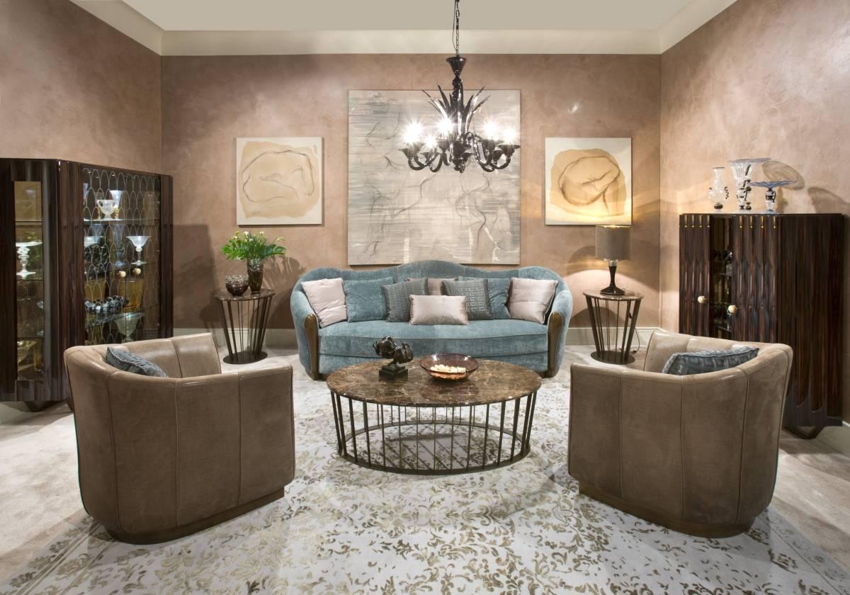 Minotti collezioni a modern mood with a classic style for Arredamento salone classico