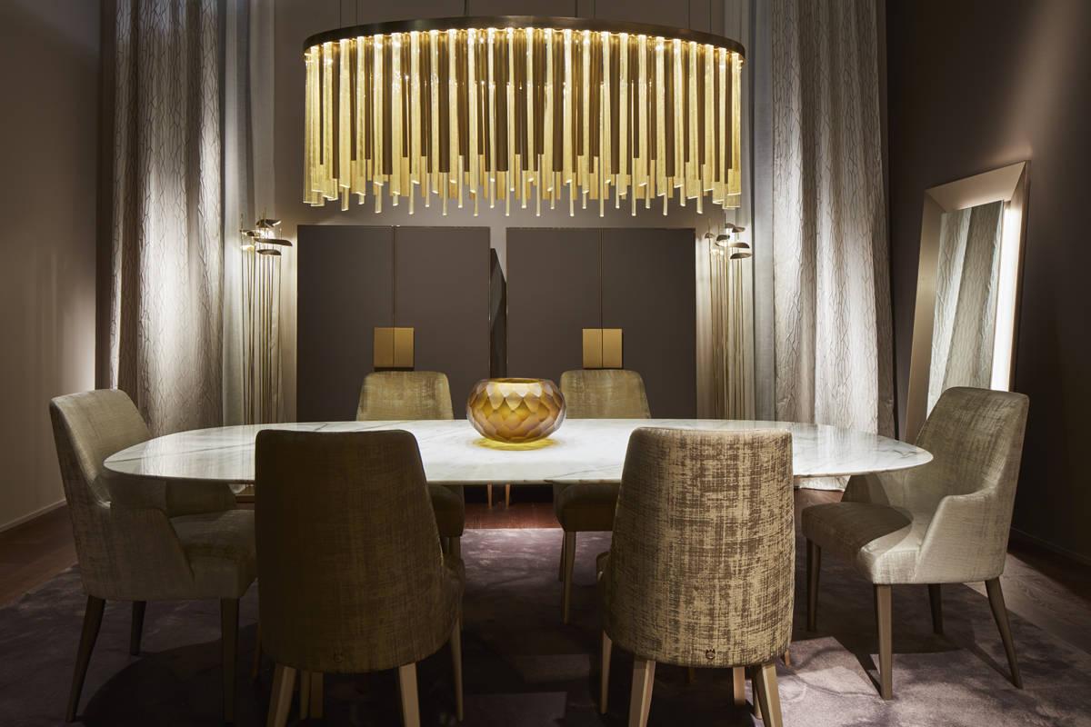 Paolo castelli cresce ad est interiors ifdm for Arredamenti interni eleganti