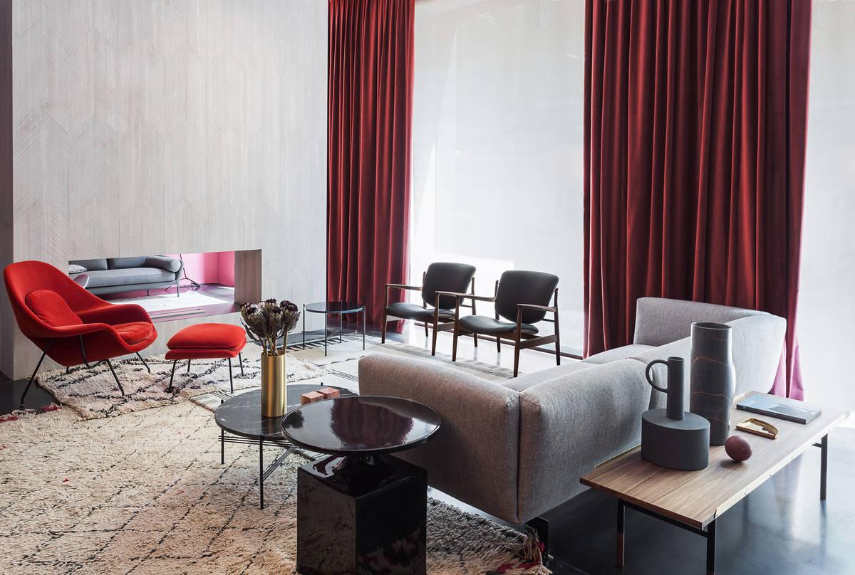 A fifties atmosphere for the restyling of Spotti Milano - Interiors ... 1c3c10542