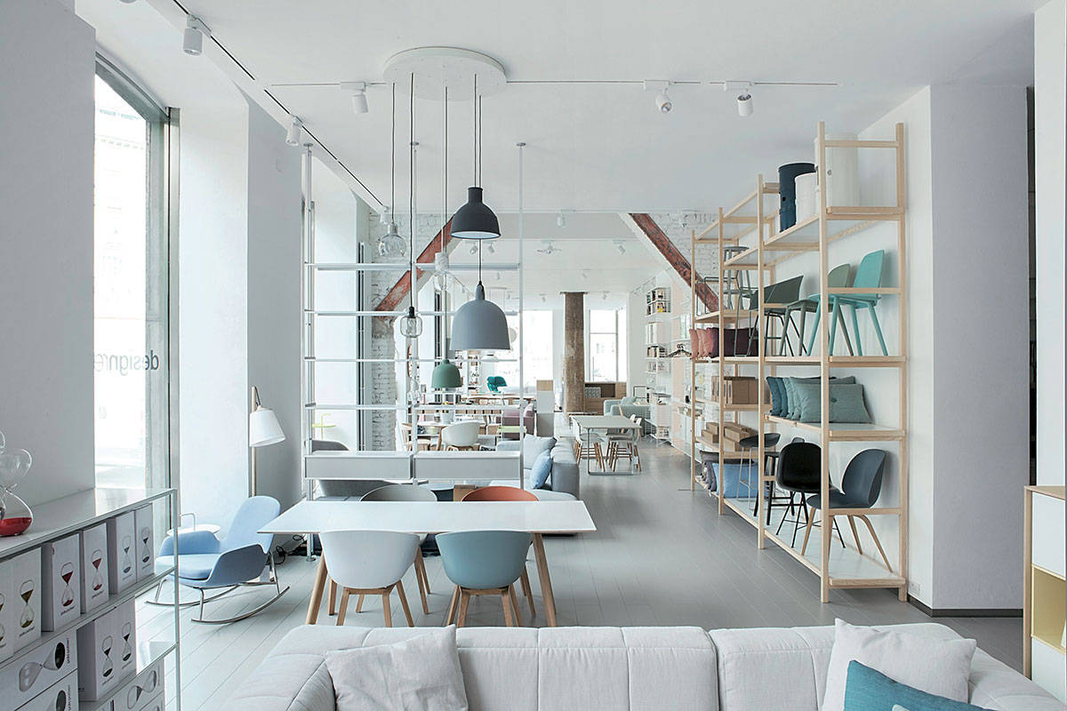 Il mood scandinavo del nuovo store design republic a for Mornata milano