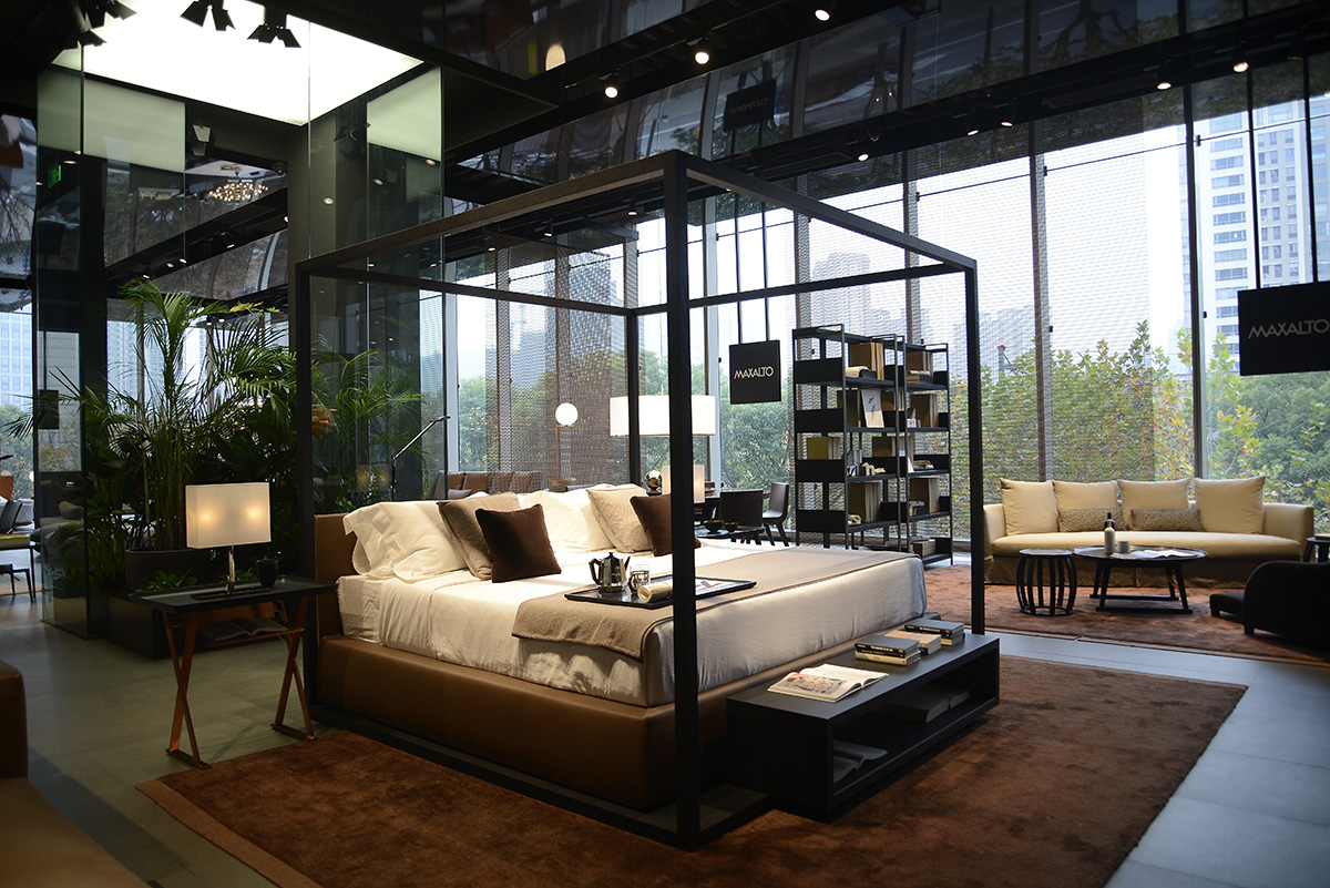 A new B&B Italia flagship store in Shanghai - Interiors - IFDM