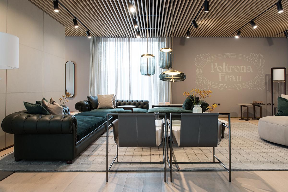 Un nuovo store a dubai per poltrona frau group me design - Poltrona design low cost ...