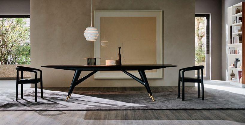 Molteni&C, tavolo D.859.1, design Gio Ponti