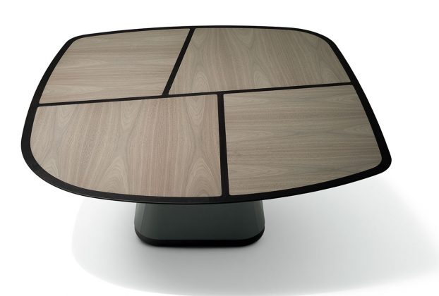 Giorgetti, Disegual table, design Umberto Asnago