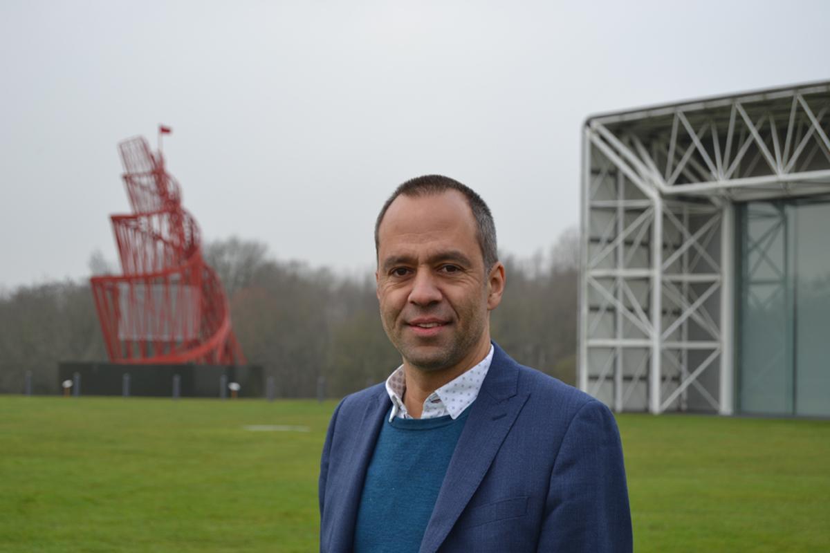 Sumantro ghose, managing director di London Design Biennale