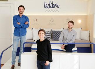 Juan Pablo Naranjo, Aude Du Colombier e Julien Sylvain, fondatori Tediber