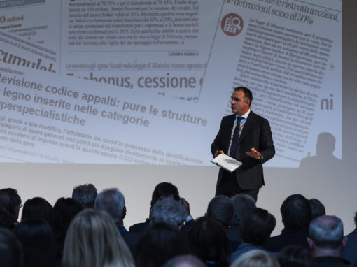 Presidente Federlegnoarredo Emanuele Orsini