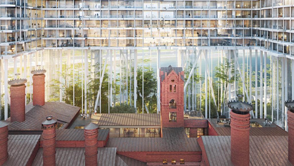 Mosca, Russia. Badaevskiy Brewery, Redevelopment © Herzog & de Meuron