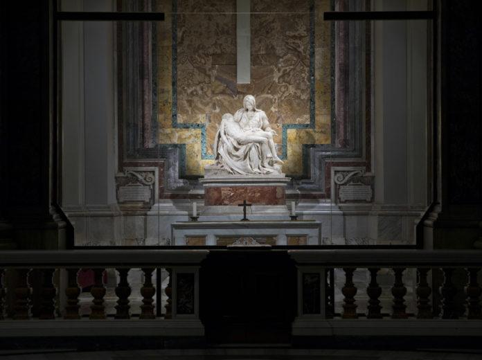 Pietà di Michelangelo, basilica di San Pietro