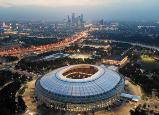 Stadium Luzhniki Mosca, photo by railway fx