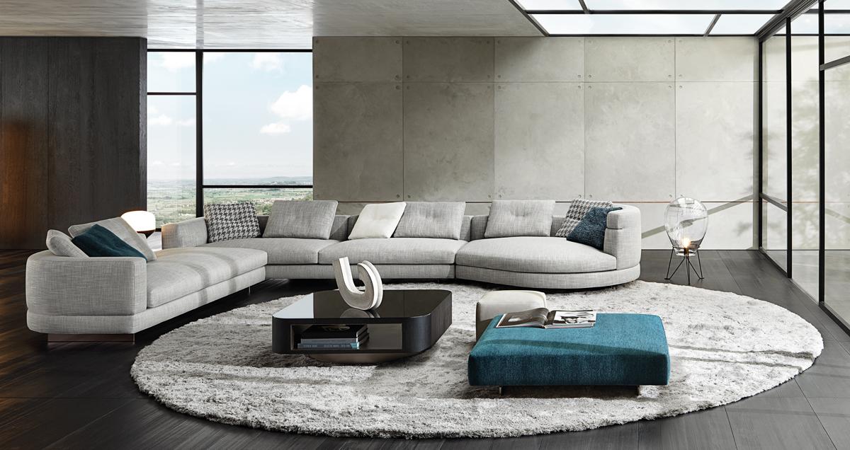 Minotti, Alexander designed byRodolfo Dordoni