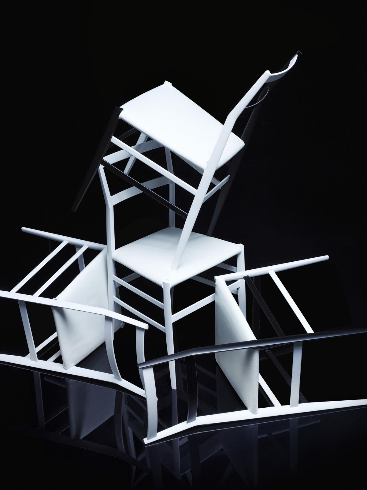 Cassina, Superleggera chairs by Gio Ponti, © Karl Lagerfeld