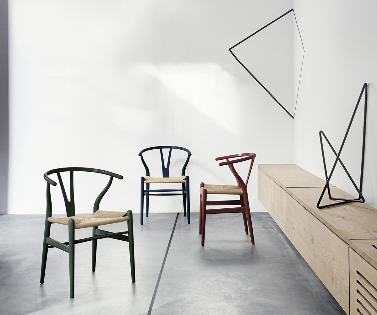 Limited edition Wishbone Chair, by Hans J Wegner