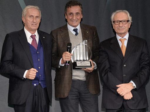 Fondatori Poliform Alberto Spinelli, Aldo Spinelli e Giovanni Anzani