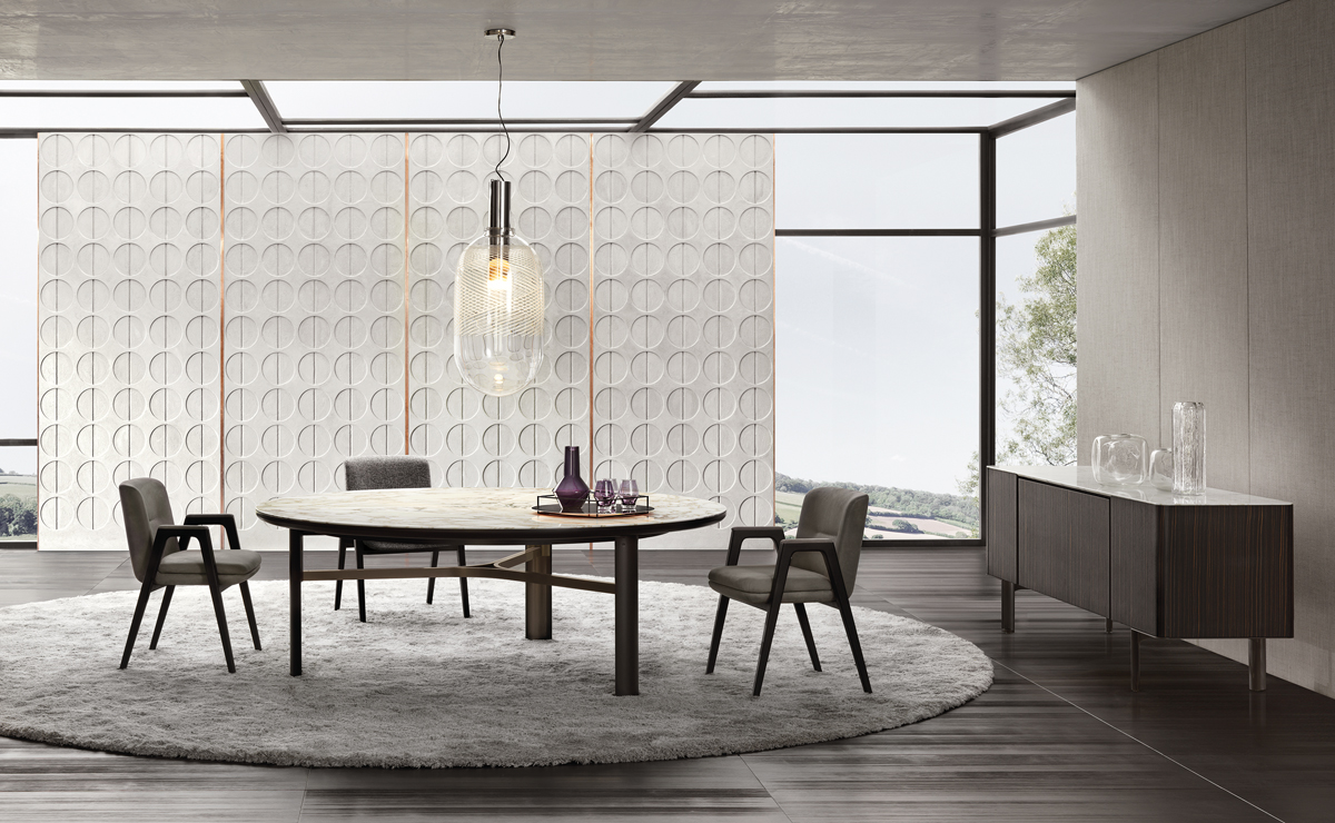 Minotti, Dan designed by Christophe Delcourt