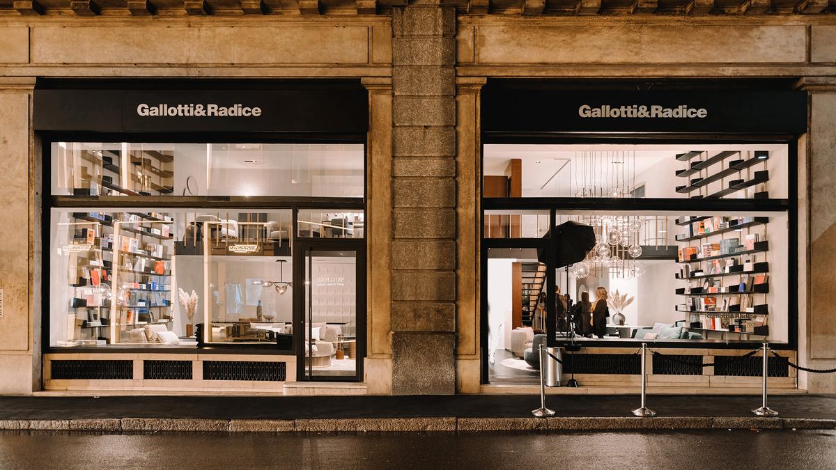 Gallotti&Radice, store Milano