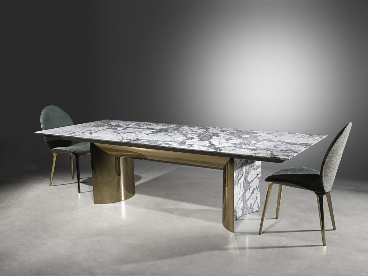 Visionnaire, Kerwan dining table, by La Spada