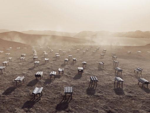 Kuwait City, Abwab Pavilion Concept: Desert Cast