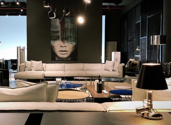 LeCerle Monobrand Dubai Living Divani