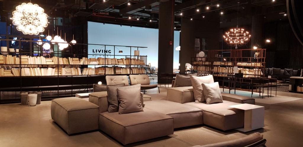 Living Divani Extra Soft.Living Divani S Sophisticated Flagship Store Design Ifdm