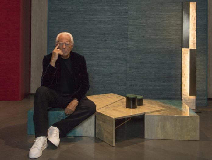 Giorgio Armani, Presidente e Ad Gruppo Armani, © Stefano Guindani