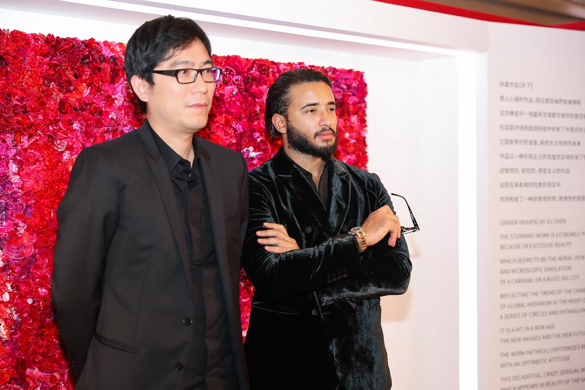 Xu Zhen and PJ Natuzzi
