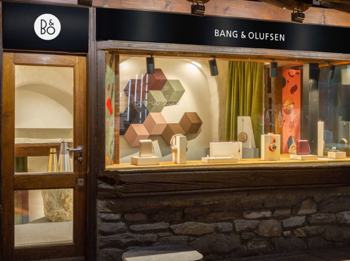Vetrina pop-up store, Courmayeur