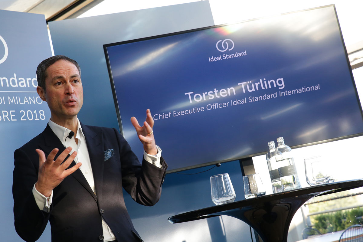 Torsten Türling, CEO di Ideal Standard International