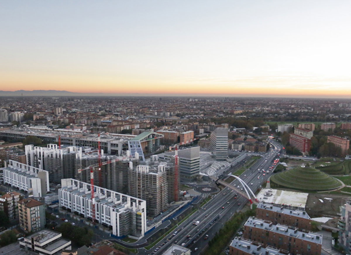 Area Portello Milano, photo by courtesy of www.fotoaeree.it