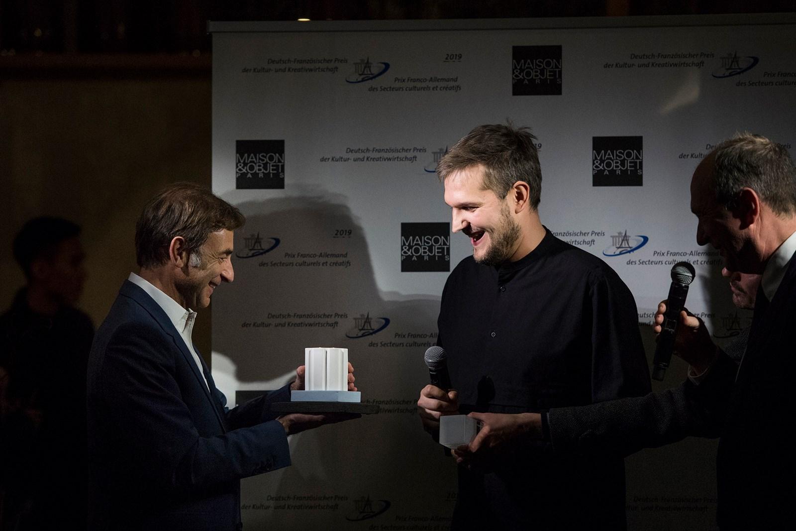 Sebastian Herkner, Designer of the year, © Anne Emmanuelle Thion