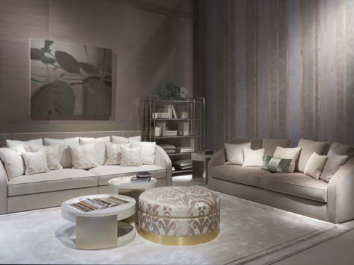 Heritage Collection Turandot sofas, Manon coffee tables, Astrid