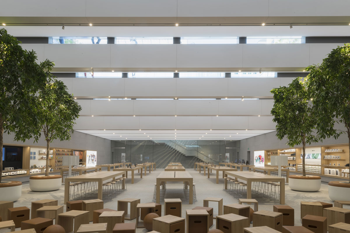 Apple store, Milano