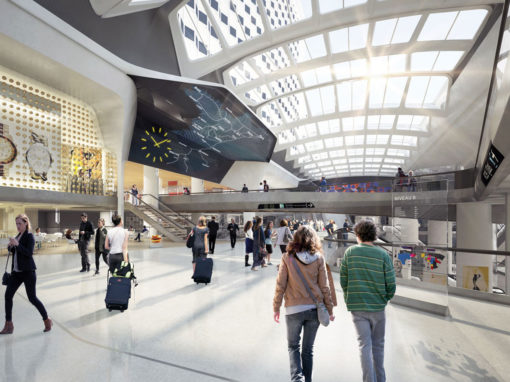 Gare de Montparnasse Paris, ongoing renovation project  © SNCF Gares & Connexions-Agence Jouin Manku-AREP-SLA Architecture-Jacobs