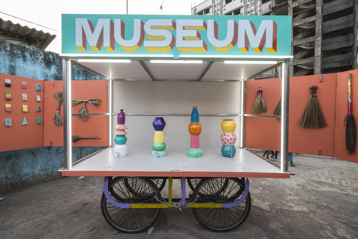 Jorge Mañes Rubio and Amanda Pinatih, Design Museum Dharavi. 2016. Courtesy the designers