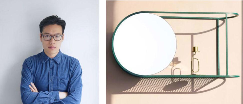 Mario Tsai, photo ©MarioTsai, specchio Two Halves Mirror , photo ©Liu Hang