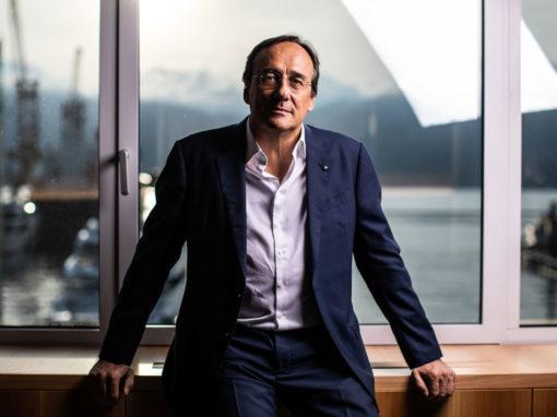Cav. Massimo Perotti, Chairmain e CEO di Sanlorenzo