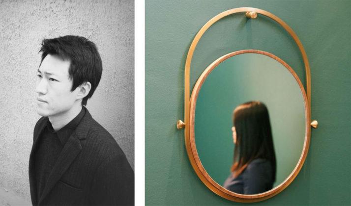 Specchio della collezione Yuan, Ximi Li, photo ©Ximi Li Design e Urbancraft