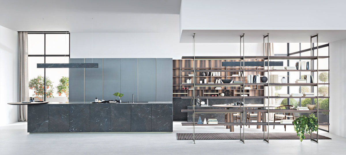 Zampieri, Segni, Living Kitchen