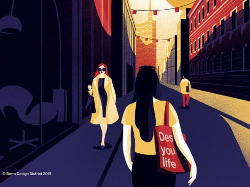 © Illustrazione Brera Design Week by Giovanna Giuliano