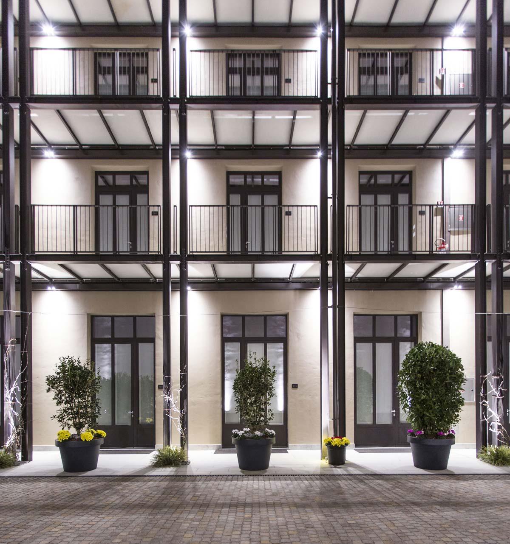Savona 18 Suites, Milano, progetto Aldo Cibic, Ingresso ©Adelaide Saviano