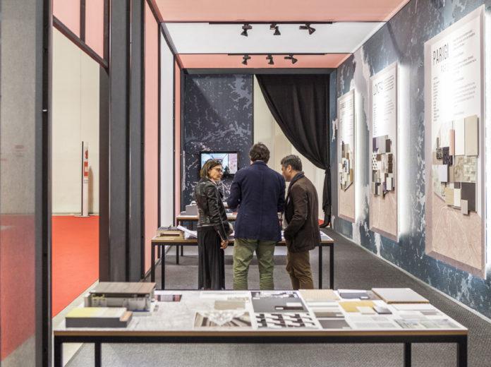 Installazione MoodBoards dello Studio Marco Piva © Andrea Mariani