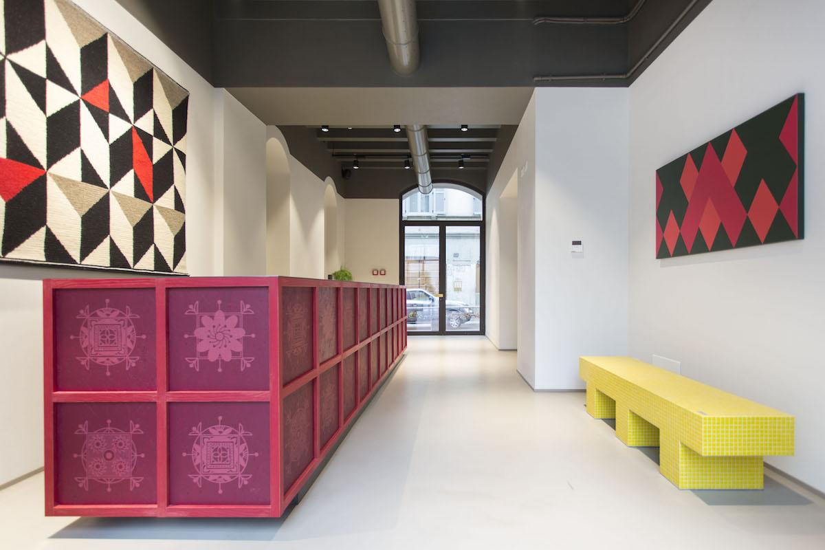 Savona 18 Suites, Milano, progetto Aldo Cibic, ©