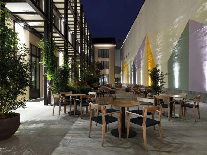 Savona 18 Suites, Milano, progetto Aldo Cibic, ©Matteo Piazza