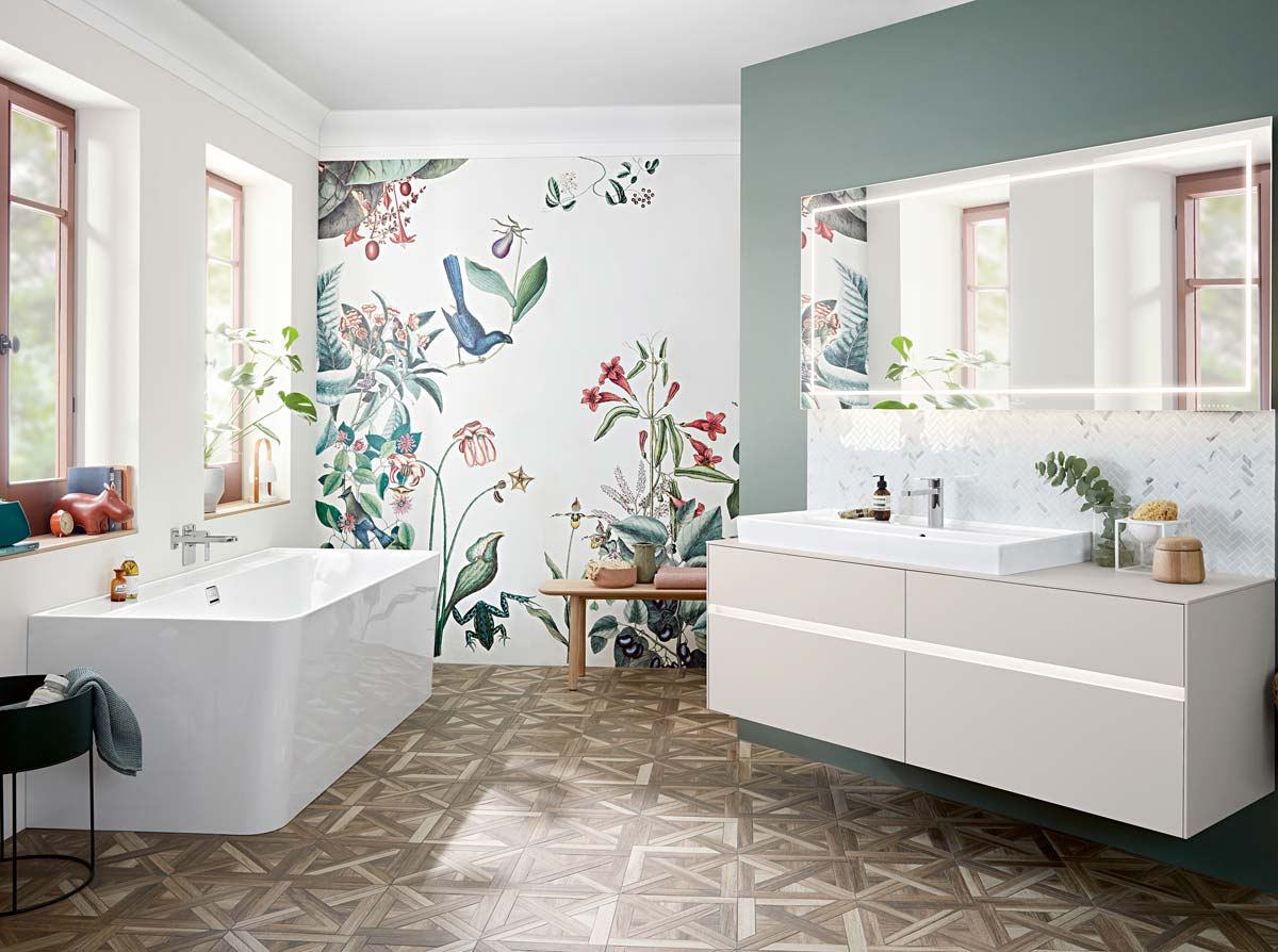 Villeroy & boch colora il bagno design ifdm