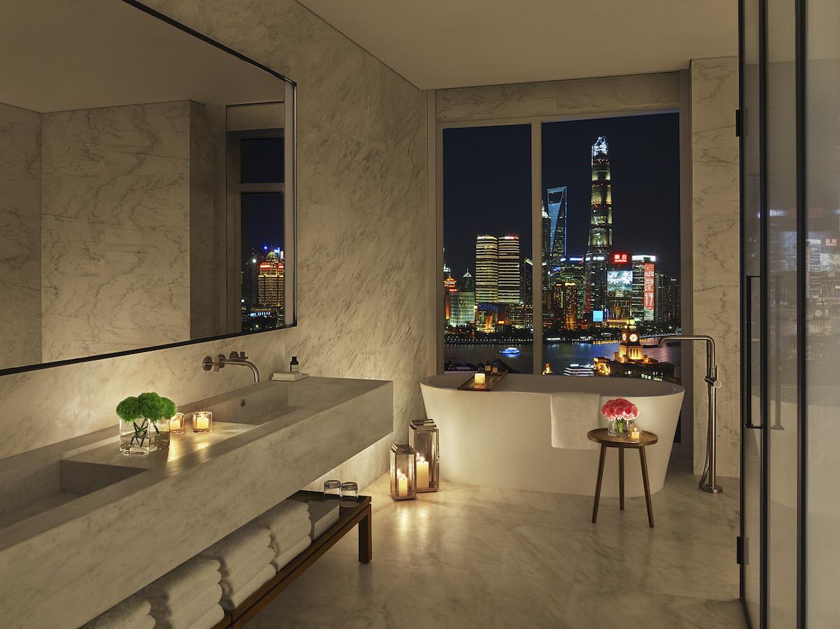 Edition Shanghai Terrace Suite, Bath Room