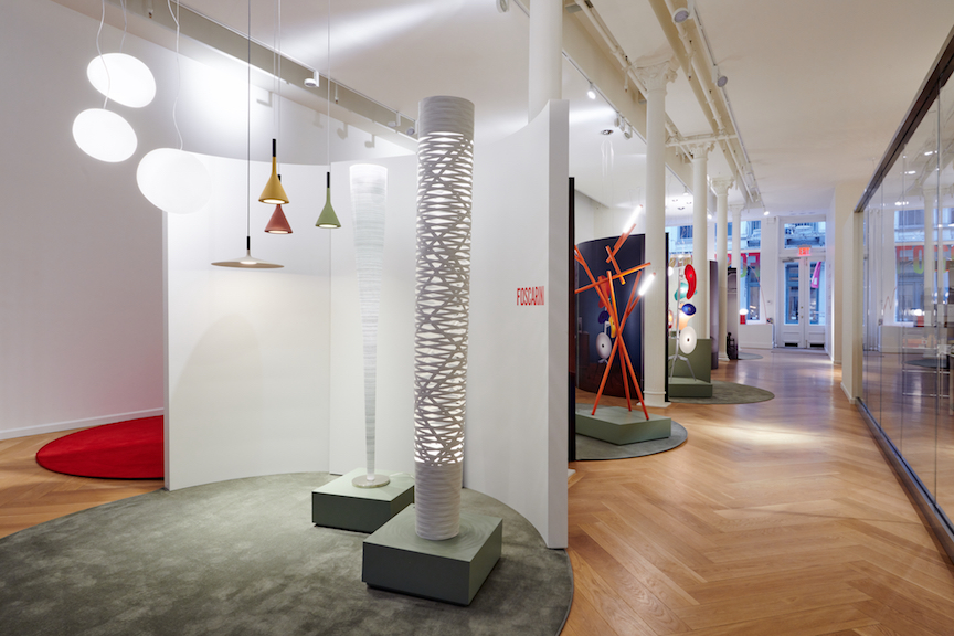 Spazio Foscarini, Manhattan